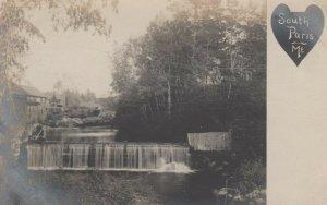 RP; SOUTH PARIS , Maine ; 1901-07 ; Waterfalls
