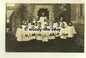 su1413 - Choir Boys , unknown location - Postcard