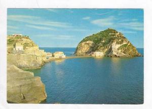 Castle and Sea, Ischia, Italy 1950-70s