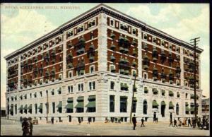 canada, WINNIPEG, Manitoba, Royal Alexandra Hotel (1908)