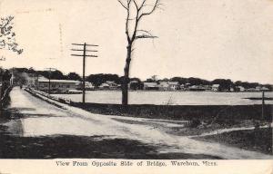 Wareham Massachusetts~View From Opposite Side of Bridge~Homes on Shore~1912 B&W