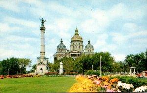Iowa Des Moines State Capitol Building