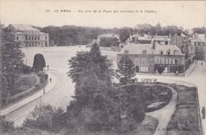Un Coin De La Place Des Jacobins Et Le Theatre, LE MANS (Sarthe), France, 190...