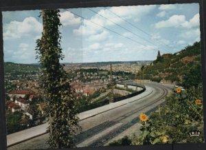 Post Card Stuttgart Germany  Blick von der Neuen Weinsteige