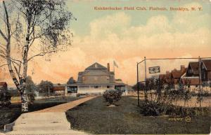 Brooklyn New York Flatbush Knickerbocker Field Club Antique Postcard K97245