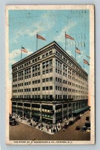Newark NJ-New Jersey, Store Of L Bamberger & Company Vintage c1917 Postcard