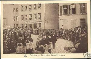 luxemburg, ECHTERNACH, Procession Dansante, Le Clerge