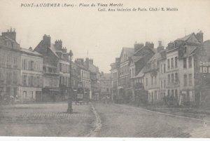 PONT AUDEMER , France, 1900-1910s ;Place du Vieux Marche