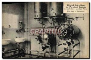Old Postcard Hospital Our Lady of Perpetual Secours Rue Kleber Levallois Perr...