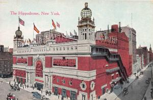 The Hippodrome, New York, N.Y., Early Postcard, Unused