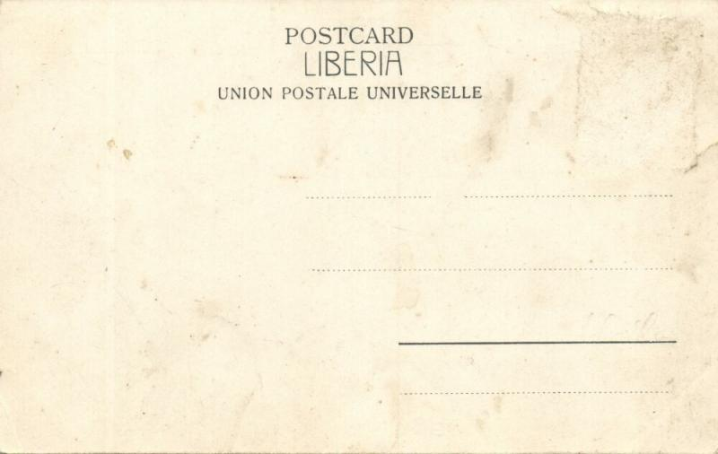 liberia, MONROVIA, Street and River Scenes (1899) Postcard