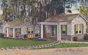 Florida Tallahassee Lake Ella Motor Court