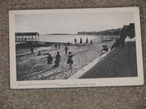 New London, Conn,  Ocean Beach ,  unused vintage card