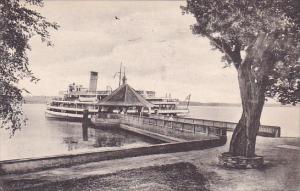 The Wharf Mount Vernon Virginia 1947