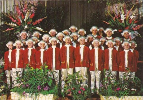 Austria Vienna The Mozart Boys' Choir
