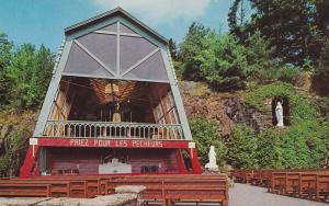 Grotte Notre-Dame de Lourdes, Peres Franciscains, Vue du Kiosque, Lachute, Qu...