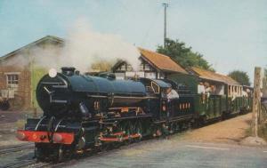 Samson at St Marys Bay Hythe Kent Station Dymchurch Railway Postcard