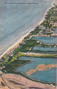 Florida Clearwater Beach Arial View Of Clearwater Beach 1953