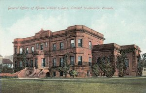 WALKERVILLE, Ontario, Canada 1900-1910s; Offices Of Hiram Walker & Sons, Limited