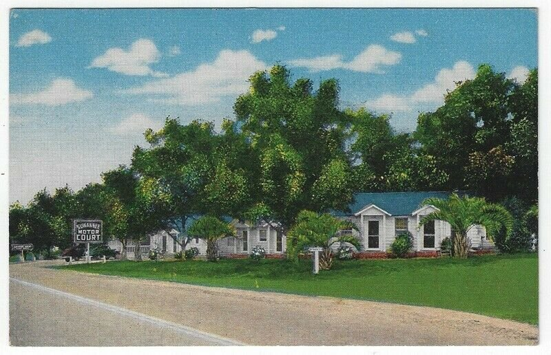 Cordele, Georgia, Vintage Postcard View of Suwanee Motor Court