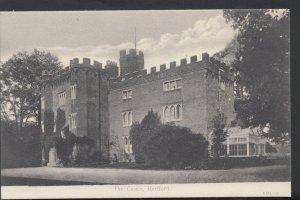Hertfordshire Postcard - The Castle, Hertford  DC1220