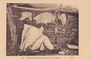Pierres sonores servant de cloches , 1910s
