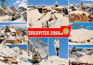Zugspitze Zahnradbahn und Seilbahn Muenchner Haus Ostgipfel Station Hotel Train