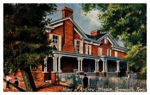 Tennessee  Greenville Home of Andrew Jackson   Tuck's no. 2900