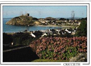 Postcard Wales Gwynedd Criccieth