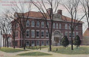 MENOMONIE , Wisconsin, 1900-10s ; Normal & Agricutural School