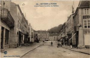 CPA AK BRUYERES-en-Vosges Grande Rue et Carrefour du Bailleux (401163)