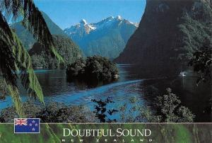 New Zealand Doubtful Sound M.V. Friendship in the Hall Arm South Island