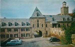 Oscawana New York~Courtyard At Administration Building Valeria Home~1950s Cars
