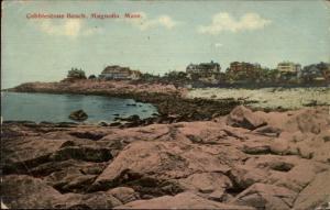 Magnolia MA Cobblestone Beach c1910 Postcard