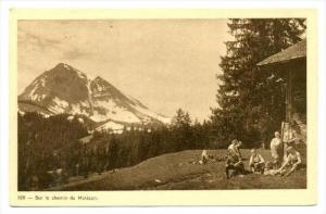 Sur le chemin du Moleson, Switzerland, 1910s