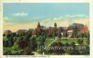 Randolph Macon Womens College - Lynchburg, Virginia