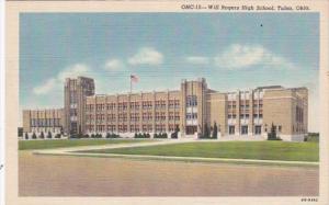 Oklahoma Tulsa Will Rogers High School Curteich