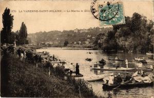 CPA La Varenne-Saint-Hilaire - La Marne le Dimanche (259924)