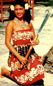 Hawaii Honolulu Beautiful Island Dancer 1961