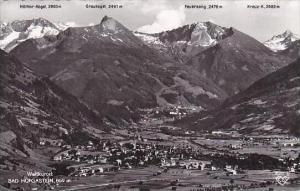 Austria Weltkurort Bad Hofgastein 1954 Real Photo