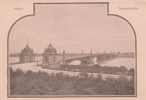 MAINZ , Germany , 1890s ; Strassenbrucke/ bridge
