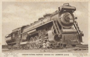 Canadian National Railways Northern Type Locomotive (4-8-4) , Canada , 1910s
