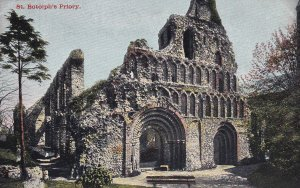 COLCHESTER, Essex, England, 1900-1910s; St. Botolph's Priory