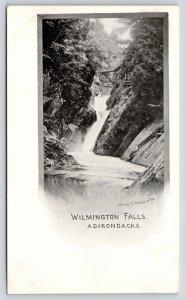 Adirondacks New York~Wilmington Falls~Rickety Bridges~Chester D Moses~c1901 PMC