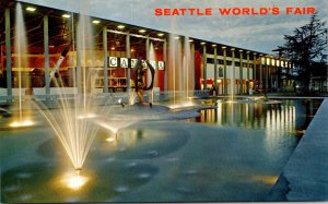 Washington Seattle World's Fair Canadian Exhibit At Night