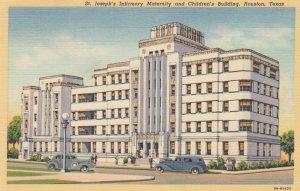 Houston , Texas , 30-40s ; St Joseph's Maternity & Children's Building