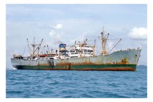 mc4241 - United Arab Emirates Cargo Ship - Ahli , built 1954 - photograph 6x4