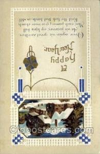 Artist Clapsaddle, New Year Post Card Postcards