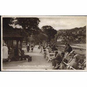 Frith's Series Postcard 'The Promenade, Minehead'