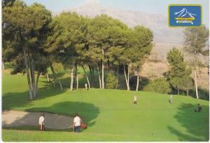 Post Card Spain Costa del Sol Marbella Aloha Golf Club